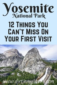 Yosemite National Park is one of the most beautiful places in California, and should be on everybody's bucket lists!  Planning an itinerary for your family vacation can be a challenge though, that is why I'm sharing this list of 12 things to do in Yosemite.  Whether you are hiking with kids, camping with families, or are on a solo photography adventure this list will give you the tips you need to do the best hikes and make the most of your road trip! Don't miss #6! #yosemitenationalpark…