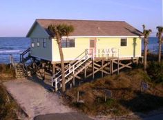 St. Augustine Vacation Rental - VRBO 163922 - 2 BR Florida North East House in FL, Tolomato Beach House - Ocean Front with Dock