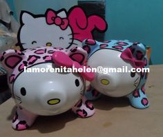 #alcancias,#hello kitty