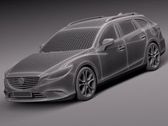 Mazda 6 Wagon 2015 - 3d model - CGStudio