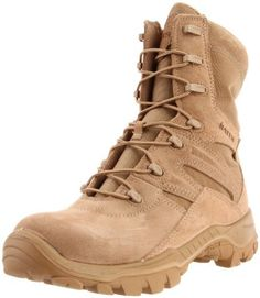 Bates Men's M-8 Military Boot Bates. $135.99. Rough side out leather and nylon upper. Assembled in the USA. Multi-terrain Vibram(r) Mutant rubber outsole. Leather and synthetic. Manmade sole. Durable direct attach construction. Breathable lining