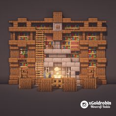 Here is a bookshelf with fireplace design. : Minecraft Here is a bookshelf with fireplace design. : Minecraft This image. Chalet Minecraft, Château Minecraft, Casa Medieval Minecraft, Minecraft Welten, Minecraft Cottage, Cute Minecraft Houses, Amazing Minecraft, Minecraft Blueprints, Minecraft Crafts