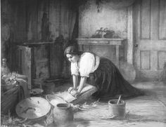 "Dona Mariana cronel, ""La tortillera"", <http://commons.wikimedia.org/wiki/File:Drawing_of_Dona_Mariana_Coronel_as_%22La_Tortillera%22,_ca.1890-1902_(CHS-2062).jpg>."