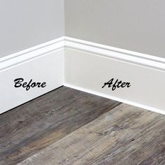 Extraordinary Flexible Caulking For Wood Floors Photos - - White Baseboards, Baseboard Trim, Baseboard Ideas, Caulk Baseboards, Baseboard Styles, Modern Baseboards, Drywall, Bathroom Baseboard, Home Upgrades