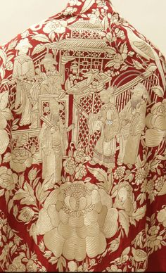 Chinese Embroidery, Gold Embroidery, Embroidery Stitches, Embroidery Patterns, Couture Embroidery, Embroidery Saree, Textile Patterns, Textile Art, Textiles