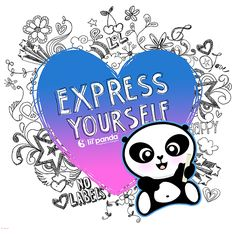 Express yourself, you are worth hearing. www.lilpanda.com