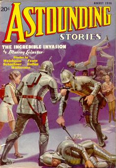 Astounding Stories  Aug 1936