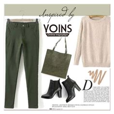 """YOINS IV/22"" by amra-mak ❤ liked on Polyvore featuring Anja, SWEET MANGO, women's clothing, women's fashion, women, female, woman, misses, juniors and yoins"