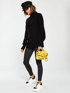 V by Very Blouson Sleeve Turtleneck Jumper - Black Latest Fashion, Ireland, Latest Trends, Normcore, Turtle Neck, Sleeves, Shopping, Black