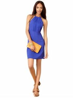 Love this dress.  I have it in yellow.  Great for the summer.  Women's Apparel: new arrivals   Banana Republic