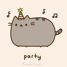 We love pusheen the cat! Here are a few of our favorite pictures of pusheen: