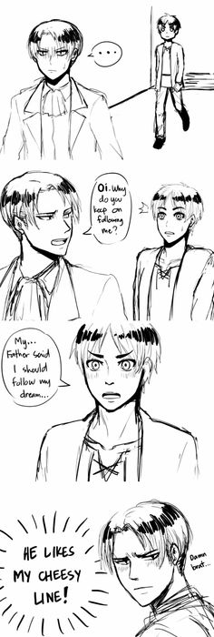 I should follow my dream, Ereri pun