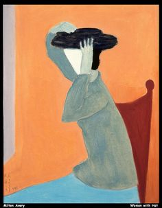 Milton Avery Woman with Hat