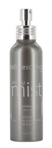 Colorescience Colorescience Setting Mist - Rise & Shine 4 fl oz - 4 fl oz by ColoreScience. $35.00. Designed specifically for problem skin, the Setting Mist hydrates and moisturizes skin throughout the day while setting makeup for long-lasting wear. Citrus and Lime give you a refreshing boost to help you keep your drowsy eyes wide awake. Is your makeup drooping off as your eyes get heavy in the middle of the day? Colorescience Setting Mist - Rise & Shine is the p...