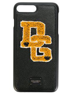 DOLCE & GABBANA iPhone 7 Plus Logo Patch Case. #dolcegabbana #