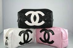Chanel Makeup bags!! Super cute!