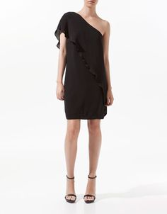 ASYMMETRIC DRESS - Dresses - Woman - ZARA United States  http://www.zara.com/webapp/wcs/stores/servlet/product/us/en/zara-us-S2012/189503/827180/ASYMMETRIC%2BDRESS#