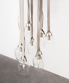 Bells lights By Fendi  www.archisnack.com  #design #lighting Luminaire Design, Lamp Design, Interior Lighting, Lighting Design, Modern Lighting, Lamp Light, Light Up, Photo Deco, Style Deco