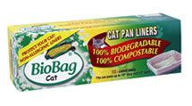 BioBag is proud to have the first 100% biodegradable, non-allergenic cat pan liner on the market. Sale Price: $4.95