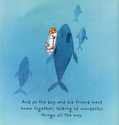 To me, this is one of the single most beautiful images I've ever seen. From Lost and Found by Oliver Jeffers.