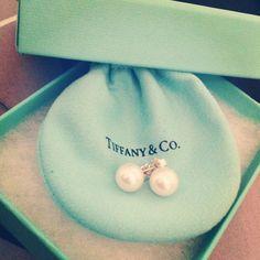 Tiffany & Co. Pearls.