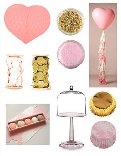 Pink and Gold Party Inspiration