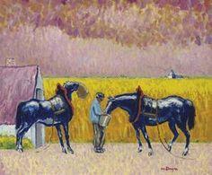 Kees van Dongen Peasant and Horses
