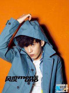 Actor Jing Boran covers Men's Uno magazine   China Entertainment News