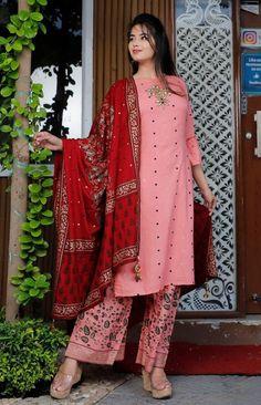 Indian Bollywood Stylish Embroidery Hand Work Rayon Kurta Pant | Etsy
