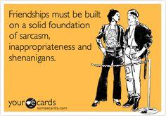 friendships!