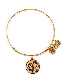 Alex and Ani Because I Love You Expandable Wire Bangle | Bloomingdale's