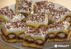 Kincsesbánya | NOSALTY Hungarian Desserts, Hungarian Cake, Hungarian Recipes, Hungarian Food, Cake Cookies, Cupcakes, Nutella, Oreo, Cake Decorating