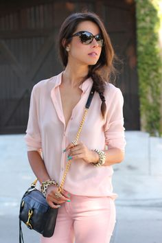 pale pink clothes. just fab.