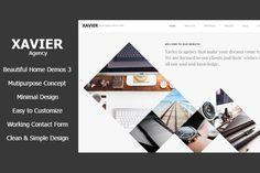 Xavier - Portfolio and Agency HTML theme by max-themes