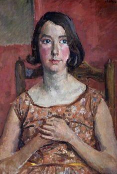 Vivien by Augustus Edwin John Date painted: Aberdeen Art Gallery, Canadian Soldiers, John Everett Millais, Museum Art Gallery, Portrait Art, Portrait Paintings, Post Impressionism, Art Uk, Vintage Artwork