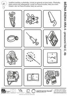 Běžná rizika - Nebezpečné předměty?, Záchranný kruh Sudoku, Edm, Worksheets, Drugs, Kindergarten, Playing Cards, Gallery Wall, Math, Inspiration