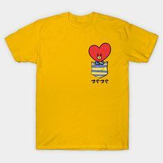 Bts Shirt, T Shirt Diy, Kpop Shirts, Tee Shirts, Bts Doll, Bts Clothing, T Shirt Painting, Bts Merch, Kpop Outfits