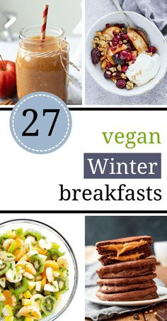 27 Healthy Vegan Winter Breakfast Recipes is part of Healthy Vegan Winter Breakfast Recipes The Green Loot - These healthy Vegan Winter Breakfast recipes will supercharge your mornings even on the coldest and darkest days! Tasty and nutritious! Cheap Clean Eating, Clean Eating Snacks, Healthy Vegan Breakfast, Vegan Breakfast Casserole, Dinner Healthy, Vegetarian Recipes, Healthy Recipes, Beef Recipes, Easy Recipes