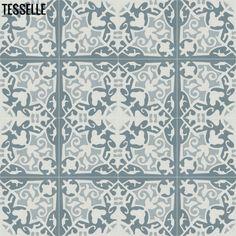 Nordica Floro Cement Tile 4x4