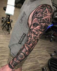 62 Ideas nature tattoo sleeve women for 2020 Realistic Tattoo Sleeve, Cool Half Sleeve Tattoos, Forearm Sleeve Tattoos, Left Arm Tattoos, Tattoos Arm Mann, Arm Tattoos For Guys, Nature Tattoo Sleeve Women, Sleeve Tattoos For Women, Tattoo Sleeve Designs