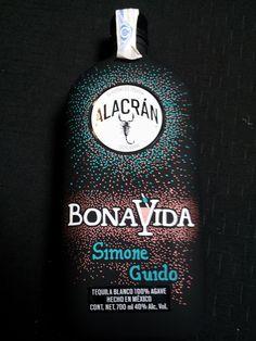 Botella realizada por Anna Manzano