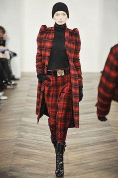 Ralph Lauren Fall 2008 Ready-to-Wear Fashion Show - Lily Donaldson