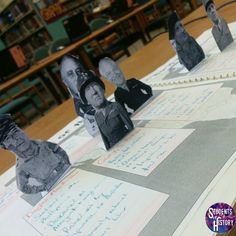 Wonderfully creative lesson has students creating pop up figures of 7 Allied leaders who helped lead their nations to victory in World War II! lessons Allied Leaders of World War 2 Pop Up Figures Lesson Plan History Lesson Plans, World History Lessons, Study History, History Projects, World History Classroom, High School History, History Teachers, History Education, 7th Grade Social Studies