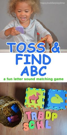 TOSS & FIND ABC – HAPPY TODDLER PLAYTIME