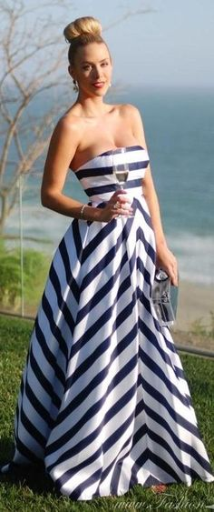 Elegantly striped