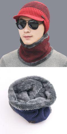 6f07095130f 2017 new Winter Hat Knitted Hats Men Women Scarf Caps Mask Gorras Bonnet  Warm Winter Beanies