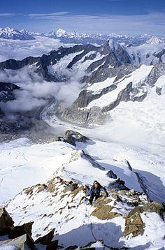 Auf dem Aletschhorn Switzerland