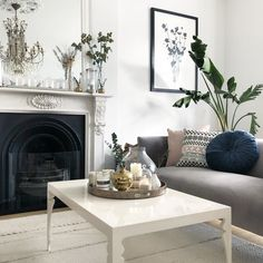 I love taking inspiration from traditional rustic French style and mixing it with clean contemporary Scandinavian design. Calm Before The Storm, Rustic French, Blue Rooms, Room Tour, Home Fashion, Home Living Room, Scandinavian Design, Clutter, Home Accessories