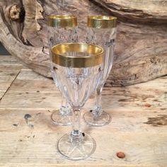 Σετ Γάμου Ποτήρια Κρασιού & Σαμπάνιας Χρυσή Λεπτομέρεια Ανάγλυφη Flute, Champagne, Candle Holders, Candles, Tableware, Dinnerware, Tablewares, Porta Velas, Candy