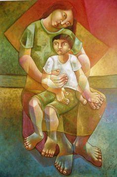 Adélio Sarro, `Prova de Fogo`, Óleo sobre Tela, 120 x 80, datado em 1994…